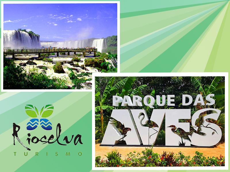 CATARATAS DE BRASIL + PARQUE DAS AVES